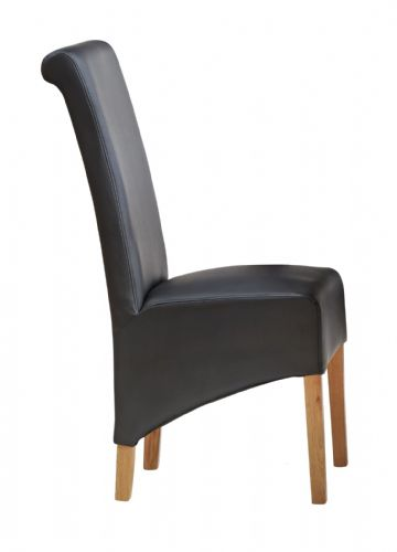 Pair of Leather Dining Chairs